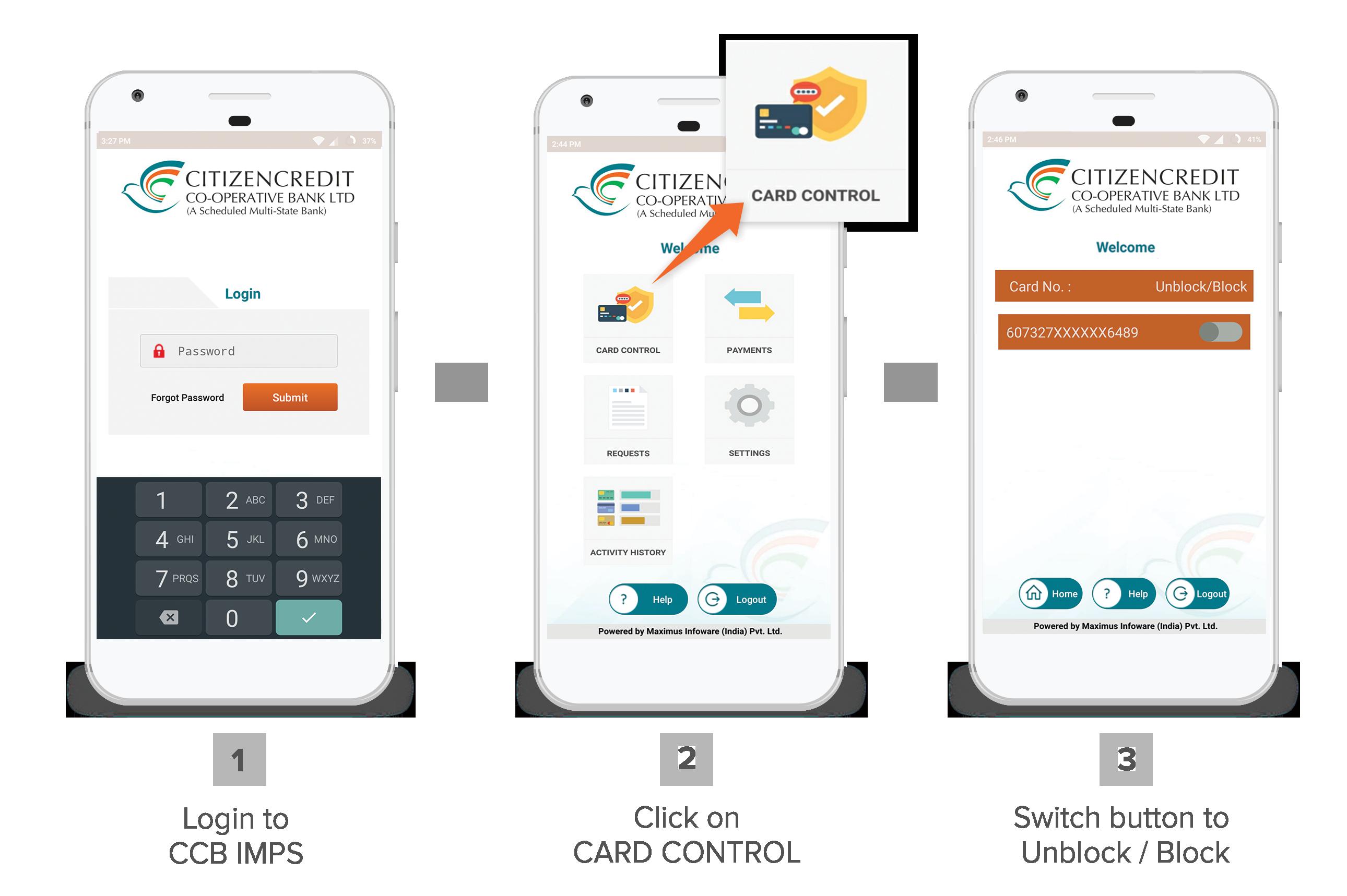 ATM Redressal | Citizencredit Co-op Bank Ltd